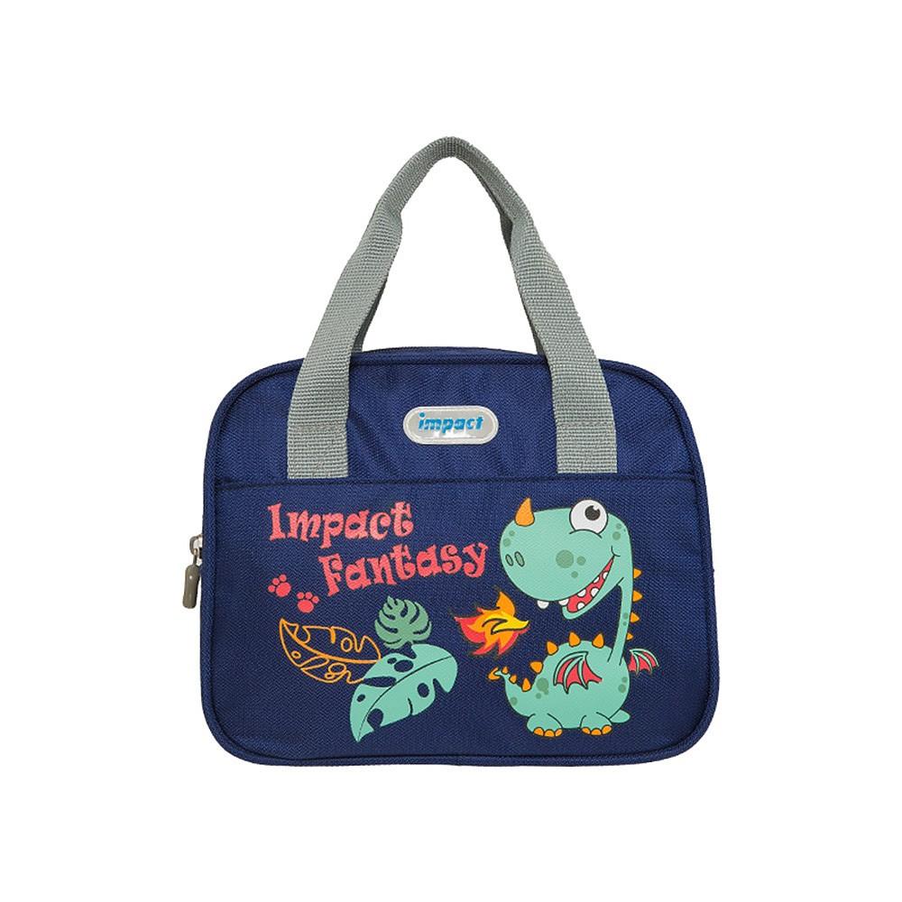 【IMPACT】怡寶午餐袋-異想恐龍-深藍