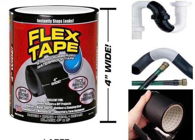 Flex Tape 萬能防漏水膠帶加厚加寬款