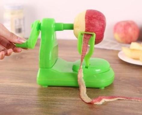 手搖自動削皮機及水果切片器組