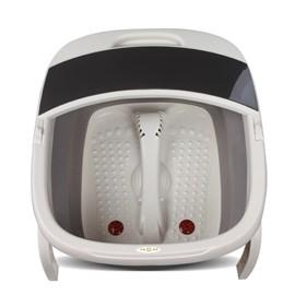 折疊足浴盆電動加熱按摩泡腳桶