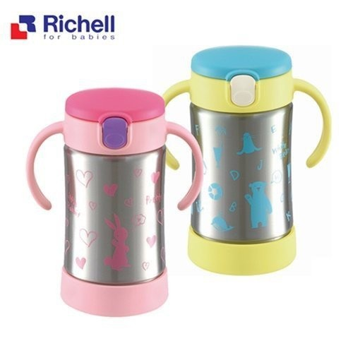 利其爾Richell TLI 不鏽鋼吸管保溫杯 300ML