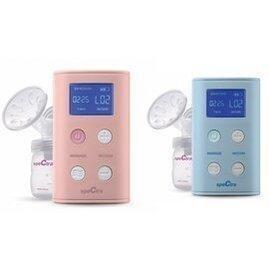 貝瑞克 9X攜帶式電動雙邊吸乳器-(粉色/藍色)/公司貨