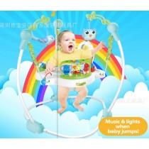 嬰兒多功能音樂燈光跳跳椅/跳跳秋千