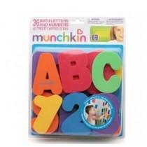 MUNCHKIN  洗澡貼學習數數(字母及數字)36片