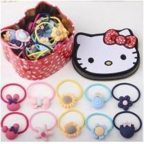 Kitty鐵盒髮束組合1組2盒(共80條髮束)