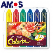 韓國AMOS 6色粗款神奇水蠟筆