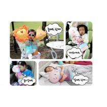 韓國可愛兒童汽車安全帶套護肩套抱枕