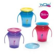 WOW cup 360度握把防漏杯 207ml(正品公司貨)