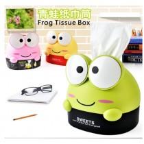 可愛大眼蛙紙巾筒