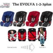 Britax 旗艦成長型汽車座椅 EVOLVA 1-2-3plus