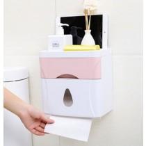多功能廁所雙層衛生紙盒
