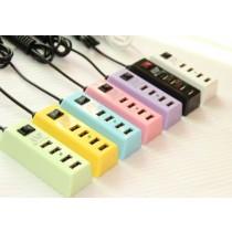4口USB充電器2A快充