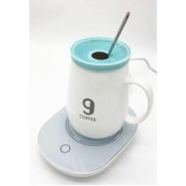 55度自動恆溫加熱暖杯墊(觸控開關款)