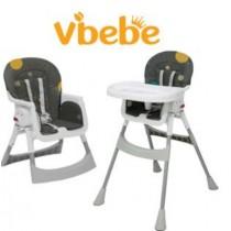 Vibebe 二階段式折疊餐椅
