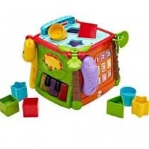 FisherPrice費雪新品玩具(公司貨)-可愛動物積木盒