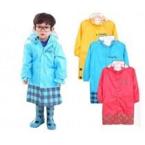 韓國設計SMALLY兒童雨衣(帶背書包設計)