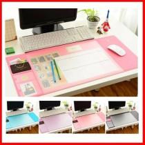 防滑雙層收納辦公桌墊