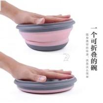 旅行環保矽膠摺疊碗三件組
