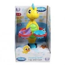 Playgro 培高 噴水海馬洗澡玩具