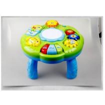 2合1 多功能寶寶學習桌 (音樂/手拍鼓/電子書)
