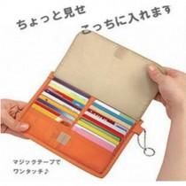 [免運商品] 日本款式多功能的卡片包 (零錢包/皮包) 2入