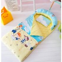 (本月特價免運 )韓版爆紅兒童幼稚園睡袋5件組