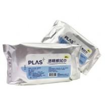 MIT濕紙巾 PLAS台灣製抗菌濕紙巾 75%酒精消毒36包(箱購最划算)