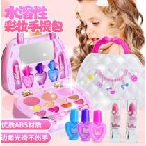 [免運商品] 兒童仿真女孩彩妝手提玩具組
