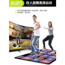 體感發光按摩雙人跳舞毯/遊戲毯/跑步毯