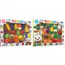 風車 水果百匯切切樂/蔬菜百匯切切樂(大盒)